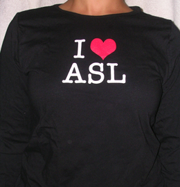 i heart asl women's cut